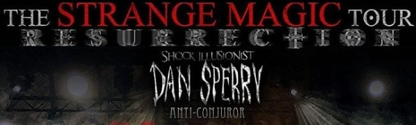 Interview: Dan Sperry, The Anti-Conjuror - 09.04.2019 @ Felsenkeller