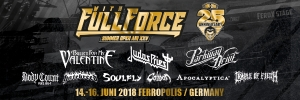 14.-16.06.2018 - XXV. WITH FULL FORCE @ Ferropolis