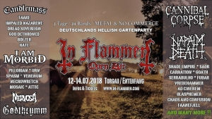 12.-14.07.2018 - In Flammen Open Air @ Entenfang Torgau