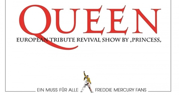 23.02.2019 - QUEEN European Tribute Revival Show by Princess @ Moritzbastei