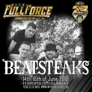 16.06.2018 - BEATSTEAKS @ XXV. WITH FULL FORCE @ Ferropolis