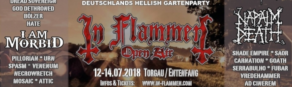 12.-14.07.2018 - In Flammen Open Air @ Entenfang...